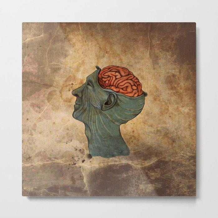 Mind Wide Open Metal Print