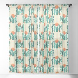 Desert fox Sheer Curtain