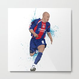 Andy Johnson - Crystal Palace FC Metal Print