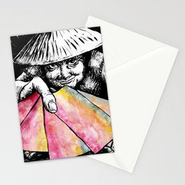 The Lottery Ticket Seller Stationery Cards