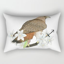 Sagittarius Hawk Rectangular Pillow