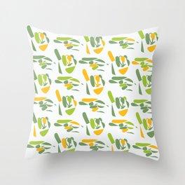 sign language (hi) Throw Pillow