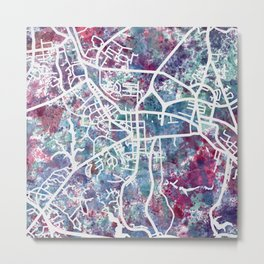 Williamsburg map Metal Print