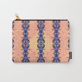 Honey Blue Carry-All Pouch