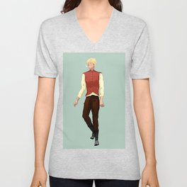 Keefe Unisex V-Neck