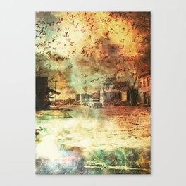 So It Goes... Canvas Print