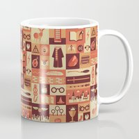 risa rodil Mugs featuring Accio Items by Risa Rodil