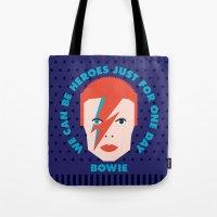 heroes Tote Bags featuring Heroes by Gigglebox
