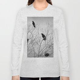 A Murder of Crows Long Sleeve T-shirt
