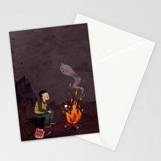 I got bad news for you, said the ghost. Stationery Cards