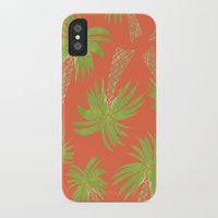 palm trees iPhone & iPod Cases featuring Palm Trees by Allyson Johnson