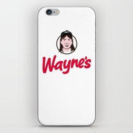 Wayne's Single #1 iPhone Skin