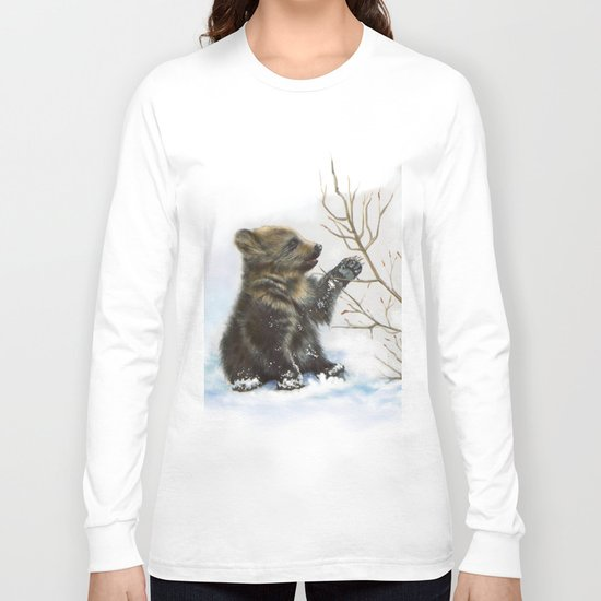 bear cub Long Sleeve T-shirt