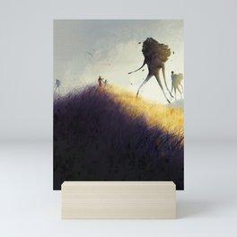 The Earth Giants Mini Art Print