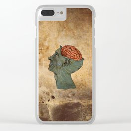Mind Wide Open Clear iPhone Case