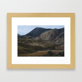 The Colors of Landmannalaugar Framed Art Print