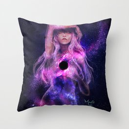 Supermassive Black Hole Throw Pillow