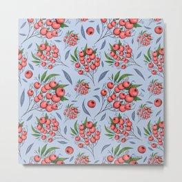 Red cranberry Metal Print