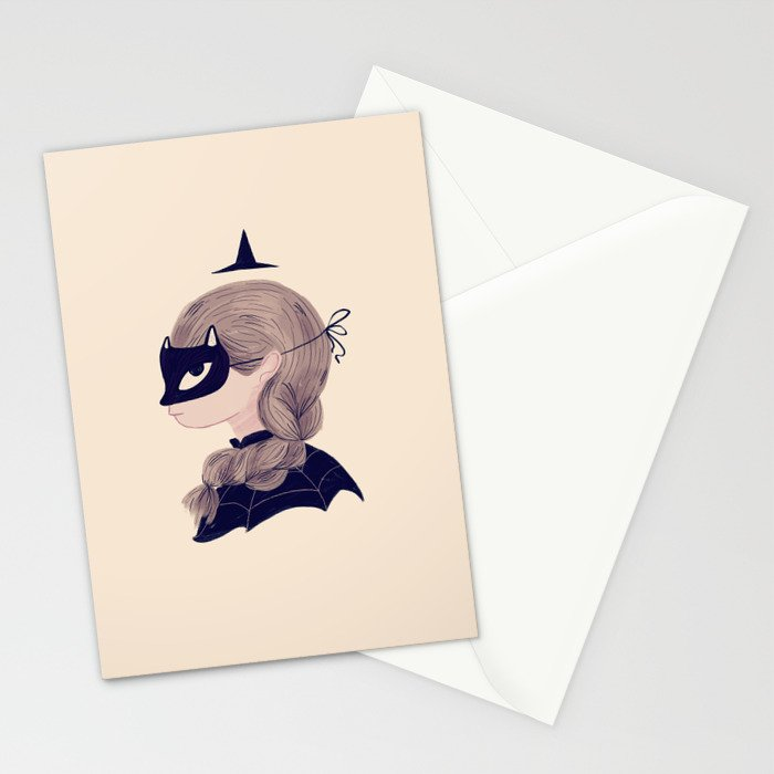 Cat Face Stationery Cards