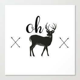 Oh Dear Canvas Print