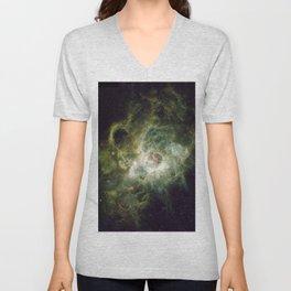 Star birth. Unisex V-Neck