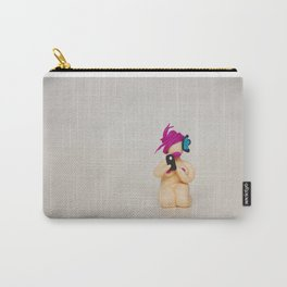 The Queen of Selfie - Unplugged Carry-All Pouch