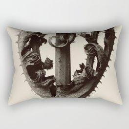 Karl Blossfeldt - Dipsacus laciniatus Rectangular Pillow