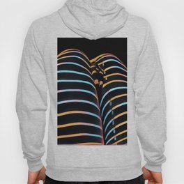 2634s-AK Striped Thighs Bottoms Up Intimate Abstract by Chris Maher Hoody