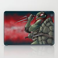 tmnt iPad Cases featuring Raphael . TMNT by Moonsia