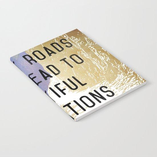 Difficult Roads Notebook