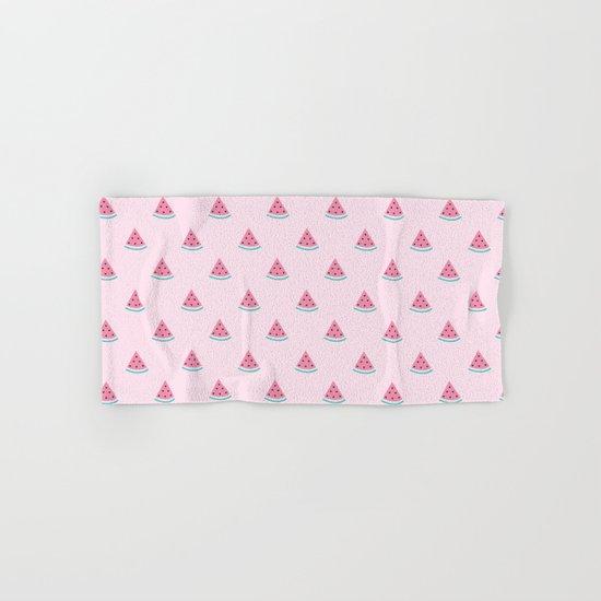 Watermelon Slice By Everett Co Hand & Bath Towel