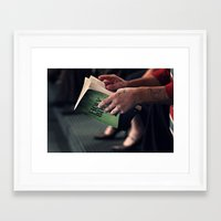 bible Framed Art Prints featuring Bible by Hannahs Photography