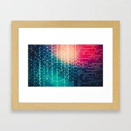 Digital Hack Framed Art Print