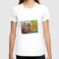 mandela T-shirts featuring nelson mandela by yossikotler