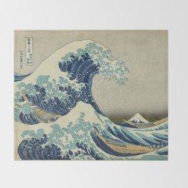 Great Wave Off Kanagawa (Kanagawa oki nami-ura or 神奈川沖浪裏) Decke