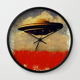 The Flying Saucer Wall Clock