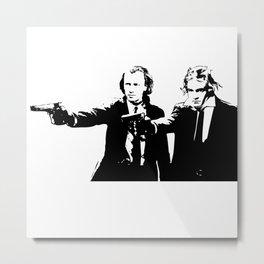Brahms & Beethoven Metal Print