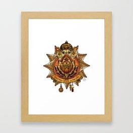 Keep Korma and Curry On Framed Art Print