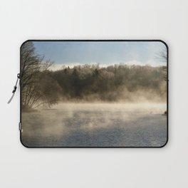 Ghostly Lake Laptop Sleeve