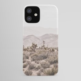Sierra Nevada Mojave // Desert Landscape Blush Cactus Mountain Range Las Vegas Photography iPhone Case
