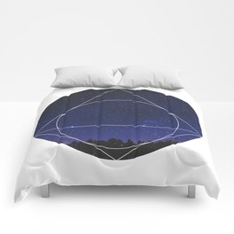 Magical Universe - Geometric Photographic Comforters