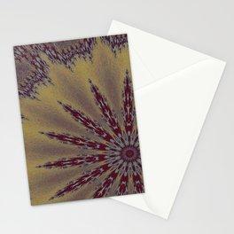 Fractal Scorpion Flower Mandala 1 Stationery Cards