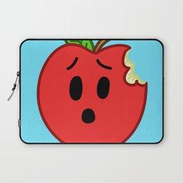Sad Food - Sad Apple by Squibble Design Laptop Sleeve