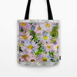 DAISEY MADNESS ABSTRACT  Tote Bag
