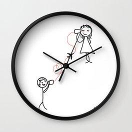 LDS/BASE Wall Clock