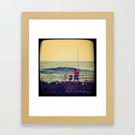 Fish Mundaka Framed Art Print