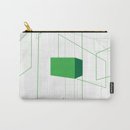 Blueprint #1 (green) Carry-All Pouch
