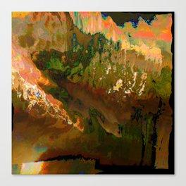 06-04-18 (Mountain Glitch) Canvas Print