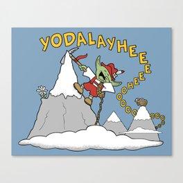 Master Yodel Canvas Print