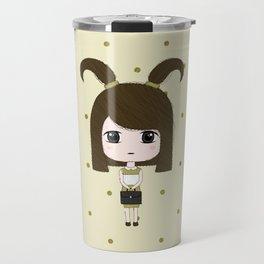 Capricorn Girl Travel Mug